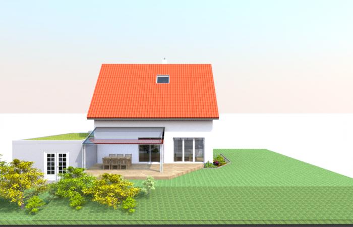 Haus von Westen