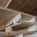Vorgrundierter Dachüberstand