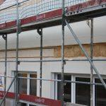 Unser Balken für die Terrassenüberdachung und Dämmung