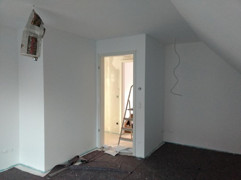 tiefengrund entfernen – Projekt Haus