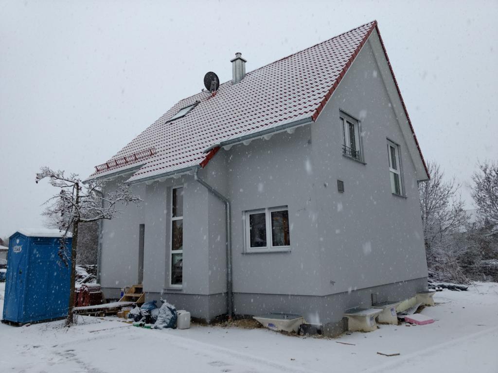 gerüst – Projekt Haus