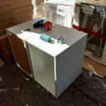 Gekürzte Kühlschrankaufsatzschränke
