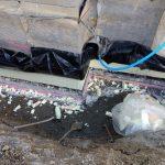 Bodenplatte nach Rückbau