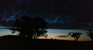 Der Himmel nach dem Umzug