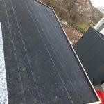 Dach eingedeckt mit EPDM-Folie